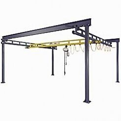 21-x-30-Warehouse-Industrial-Bridge-Crane-Free-Standing-Overhead-Gantry-Cranes