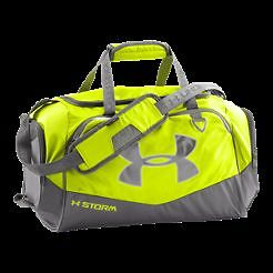 Under Armor Storm Small Duffel Bag- Lime