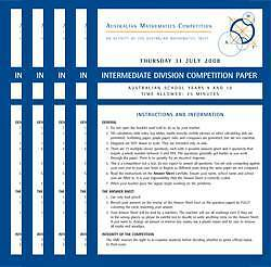 Australian Mathematics Competition Past Papers Pack Perth Perth City Area Preview