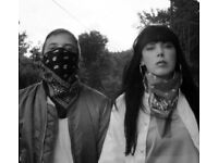 Sleigh Bells - Tufnell Park Dome, London, 27th Oct 2016, 1 Ticket
