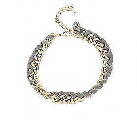 6fbc86529 Plaited Leather Bracelet   eBay