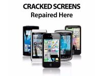 Broken SCREEN iPhone 4 / 5 / 5c / 5s / SE / 6 / 6 Plus / 6s / 6s plus?