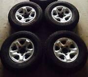 Landcruiser Toyota alloy wheels 70 series (VDJ76/78/79/V8) SET of Seven Hills Blacktown Area Preview