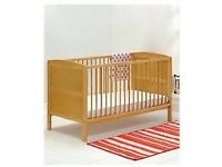 Mother Care Cot Bed Pine (East Coast)