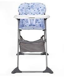 Mothercare Adjustable High Chair - Excellent Condition Hardly Used