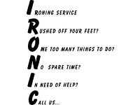 Sams Ironing Services. Herne Bay and surrounding areas.