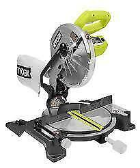 RYOBI 10-inch Compound Miter Saw with Laser, Brand New in Box $135.00