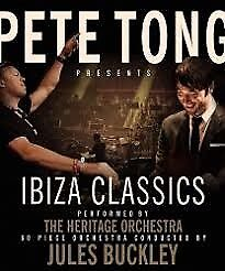 2 x standing tickets to Pete Tong Ibiza classics at the o2 London