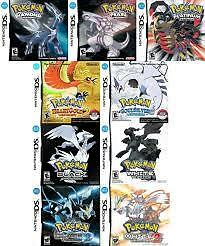 Buying DS and 3DS Pokemon Games