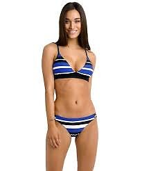 BNWT Seafolly Walk the Line Triangle Bikini Top Size 10 Avalon Pittwater Area Preview