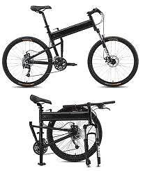 Paratrooper Pro Full Size FOLDING Mountain Bicycle by Montague