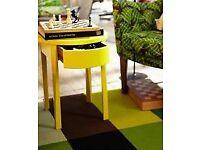 Stockholm Ikea bedside tables RRP £70 each
