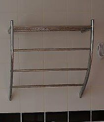 Reduced - Chrome Arched Shelf
