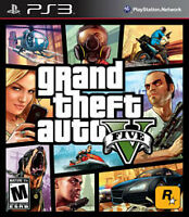 GTA 5 -Grand Theft Auto 5 *NEW!- PS3 $30 or trade for WWE 2k15