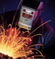 Small welding jobs and light fabrication