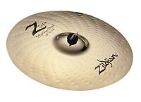 "Zildjian Z Custom crash 17"", 18"" or 19"""
