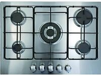 Iberna 70cm 5 Burner Gas Hob-NEW EX DISPLAY