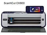Brother Scan N Cut CM900 wireless fabric and paper cutter.