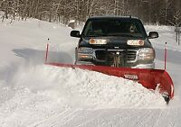 Snowplowing and salting
