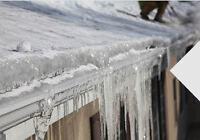 ICE DAM JUST ROOFING SUDBURY CAN HANDLE THIS