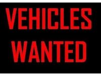 CASH PAID TODAY TOP PRICE PAID FOR CARS AND VANS CALL NOW FOR IMMEDIATE VALUATION OR POP IN