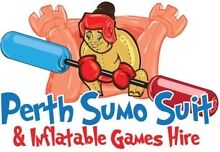 Perth Sumo Suit and Inflatable Games Hire Southern River Gosnells Area Preview