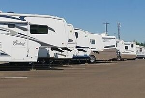 RV, Trailer, Boat and Sea-Can Storage - In town