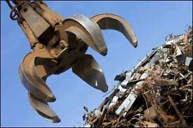 Any scrap metal removed for free