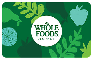 Whole foods egift cards (Spend first, pay later) 40% off 13 gift