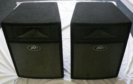 Peavey 680s plus amp and pair of peavey speakers with stands