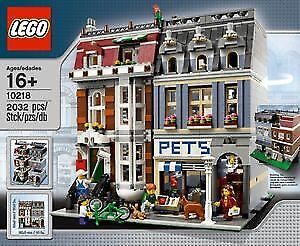 LEGO Pet Shop #10218 - NEW and FACTORY SEALED