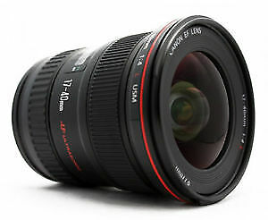 canon EF 17 40 L USM ultra wide angle zoom