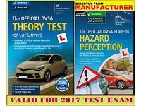 THEORY TEST BOOK FOR CAR WITH HAZARD PRECEPTION CD