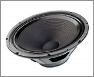 "Pair of Eminence 12"" 75 Watt 8 Ohm speakers from a Genz Benz cab"