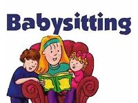 BABY SITTER AVAILABLE 7 DAYS A WEEK.