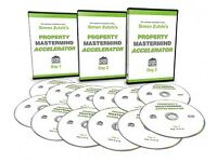 Simon Zutshi's Property Mastermind Accelerator 12 DVDs RRP £1997 Investment Personal Development