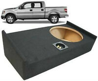 F150 2009-2013 SUBWOOFER BOX BOITE SUB 12 SPEAKER DIRECT FIT NEW