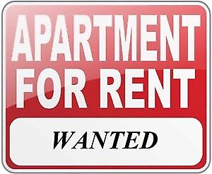 Looking for apartment. 1 or 2 bedroom.