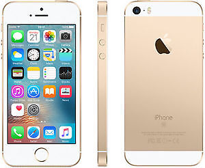 IPhone SE Gold 64GB mint-comme neuf