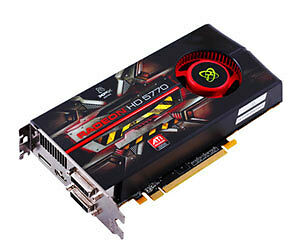 XFX Radeon HD 5770 Graphics Card ‑ 1 GB
