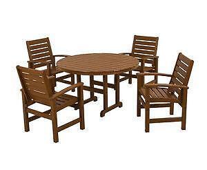 Garden Furniture Qd 9 piece dining room set | ebay