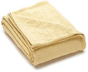 yellow matelasse coverlet - Matelasse Bedding