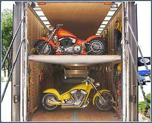 HaulBikes specialized motorcycle shipping equipment