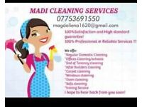 MADI Cleaning/Ironing Service The Best for you!!! CALL NOW!!! Domestic/offices/comercial