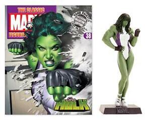 The Classic Marvel Figurine Collection - Issue 38: She-Hulk - Mint