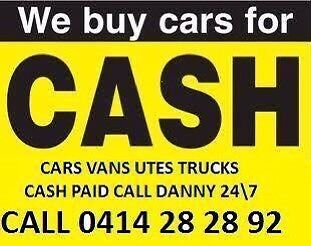 Wanted: CARS REMOVED CARS BOUGHT TOWING AVAILABLE