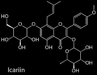 How does icariin work?