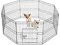 Easy-Up 8 Piece Puppy Rabbit Play Pen 61cms High