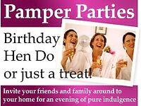 Pamper parties