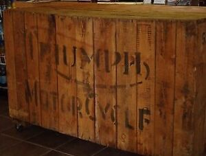 1956 TRIUMPH TRW IN CRATE - BRAND NEW - 3 AVAILABLE